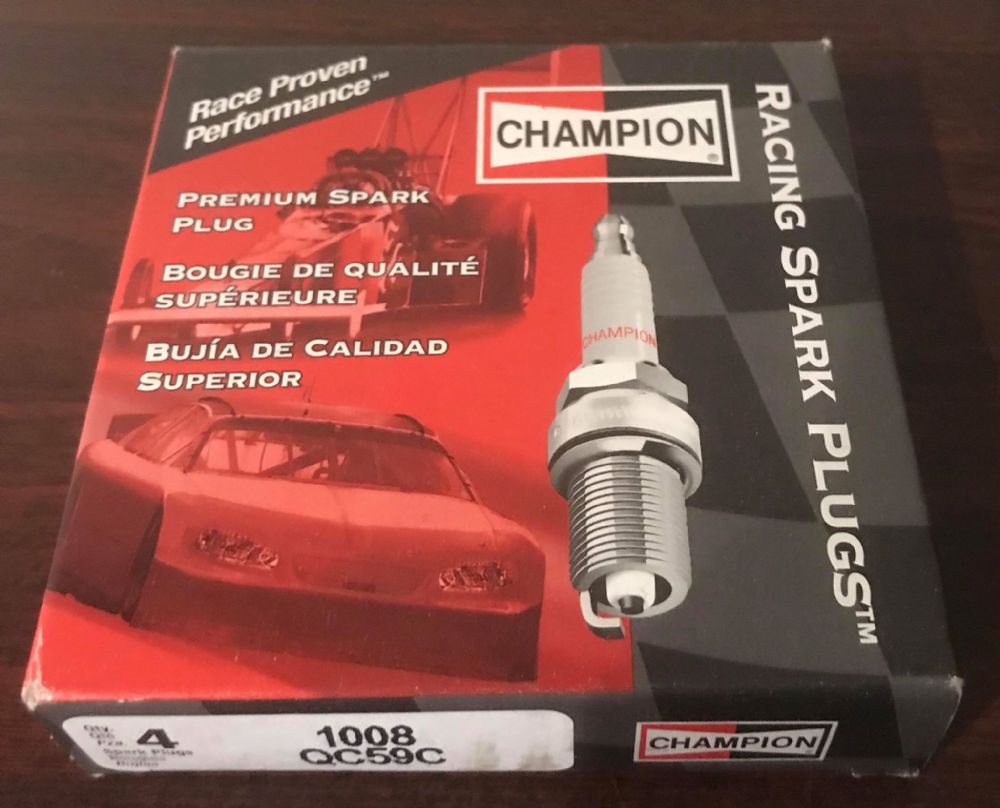 Champion Racing Spark Plug Each Cosworth QC59C
